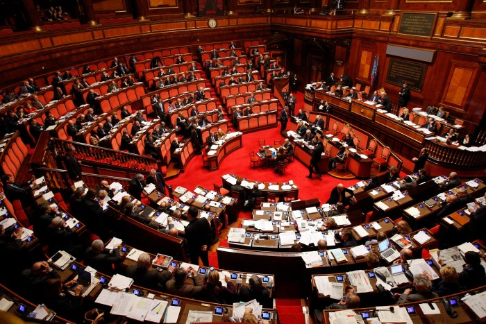 aula intervento senato